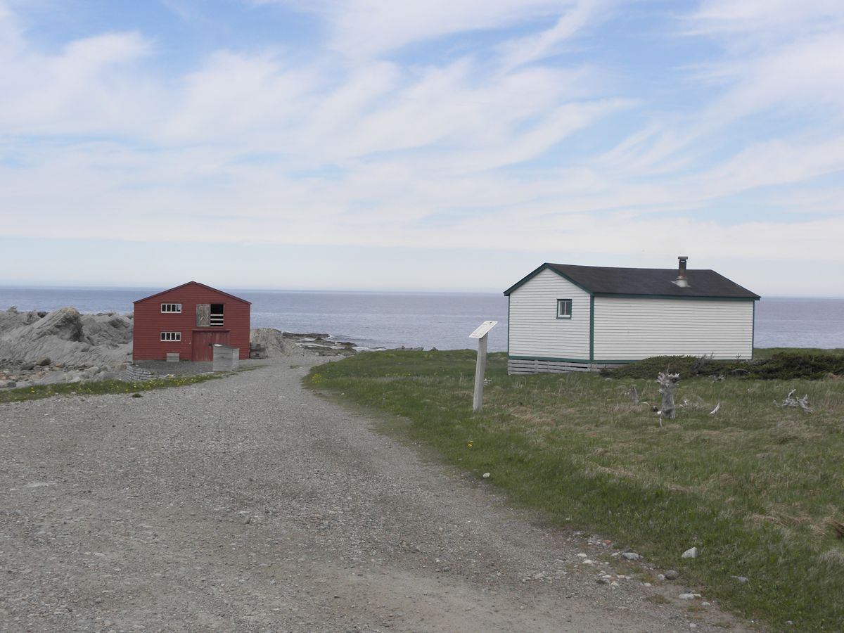 Fishing Store and House at Broom Point Fishing Premesis