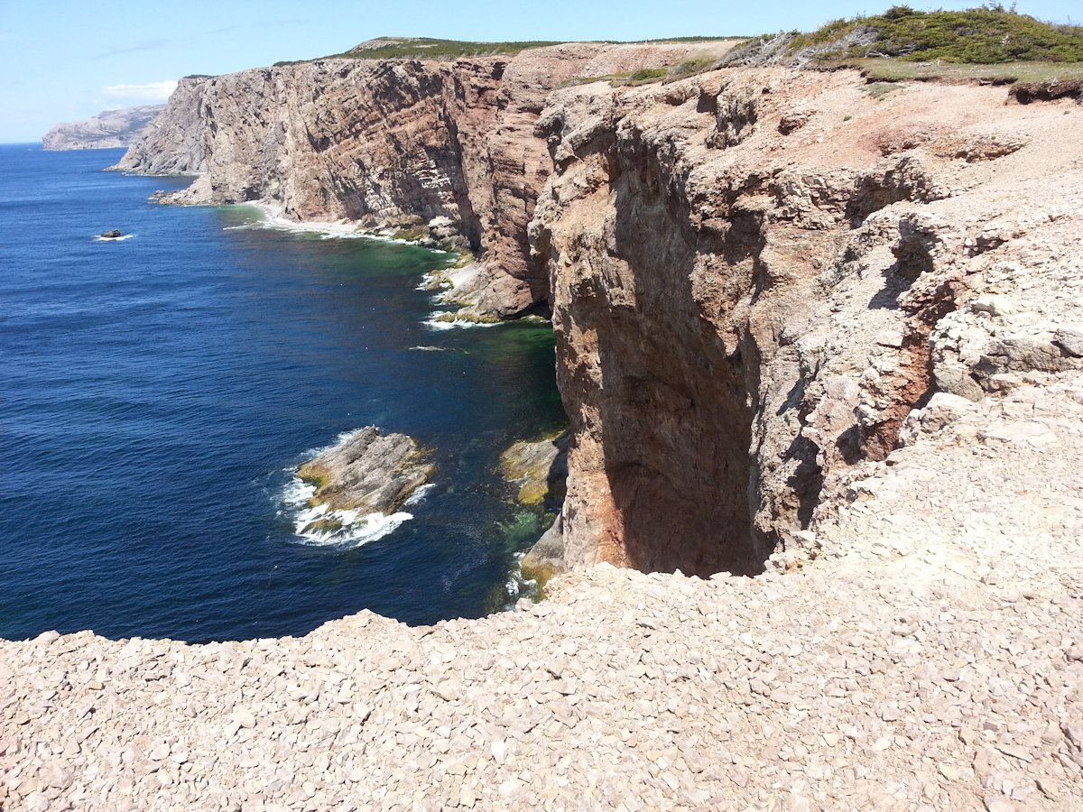 Boutte du Cap, Cliffs overlooking Gulf of St. Lawrence