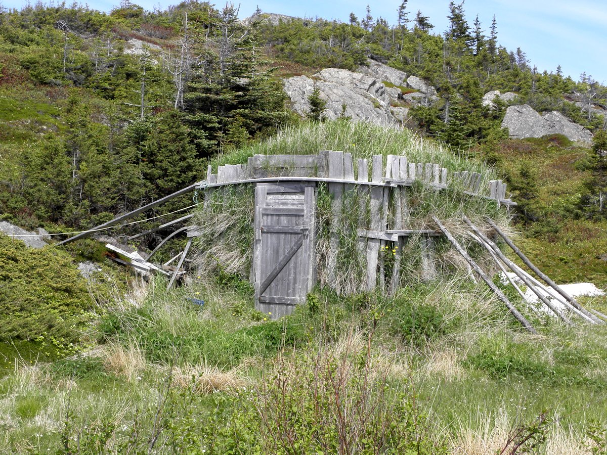 Root Cellars, Change Islands, Newfoundland