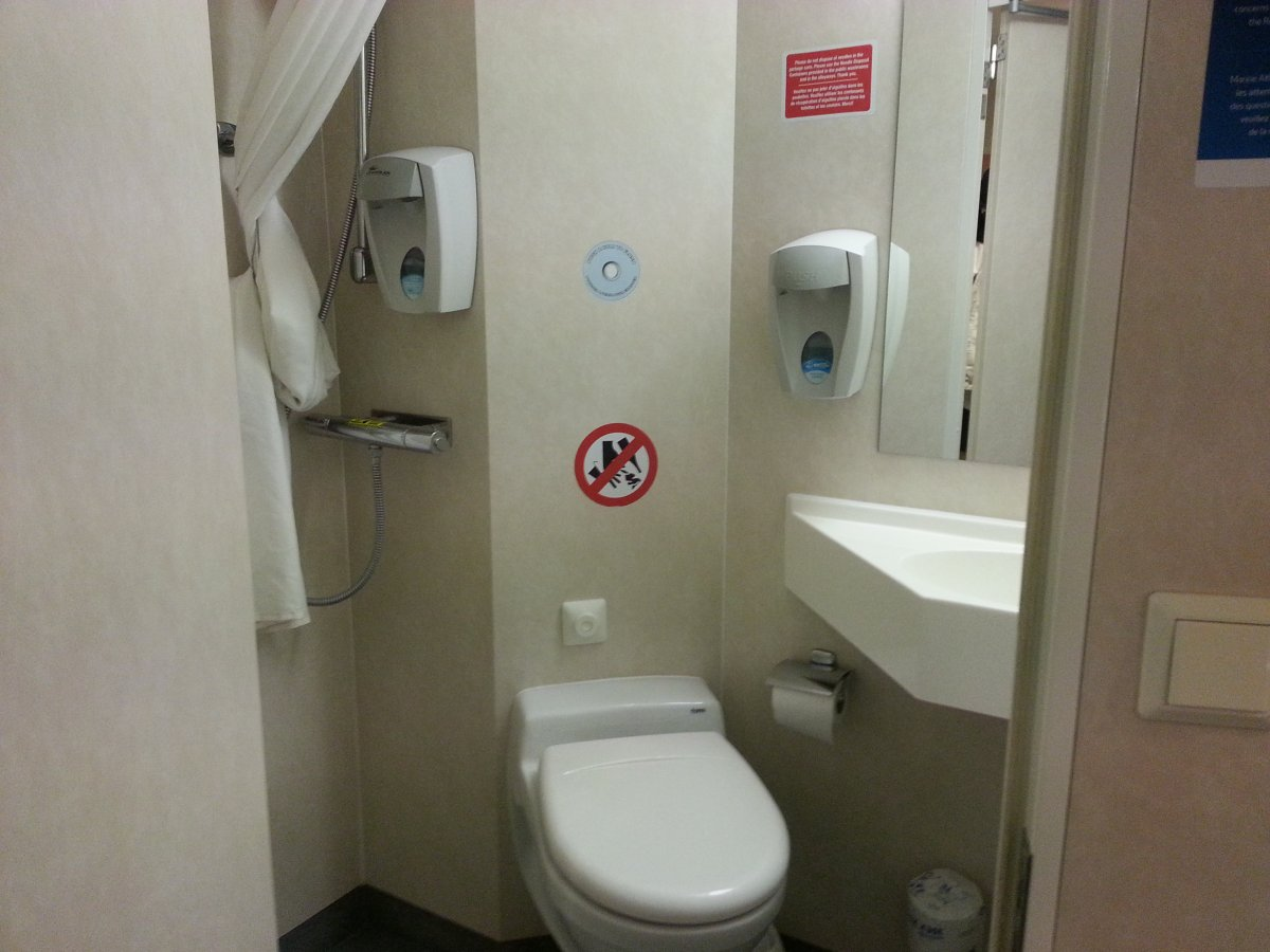Ferry Cabin Bathroom