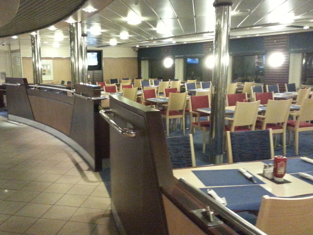 Dining Area on Ferry