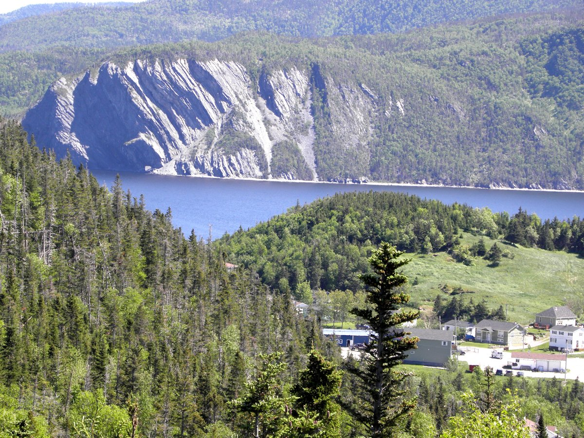 View of Norris Point looking to the left from Jenniex House, Gros Morne, NL