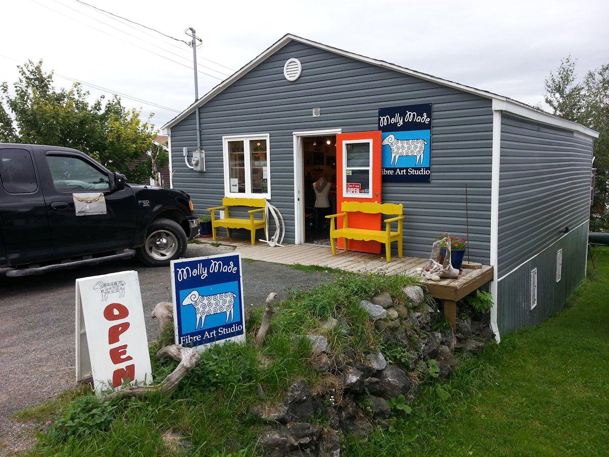 Molly Made Fibre Art Studio Woody Point Newfoundland