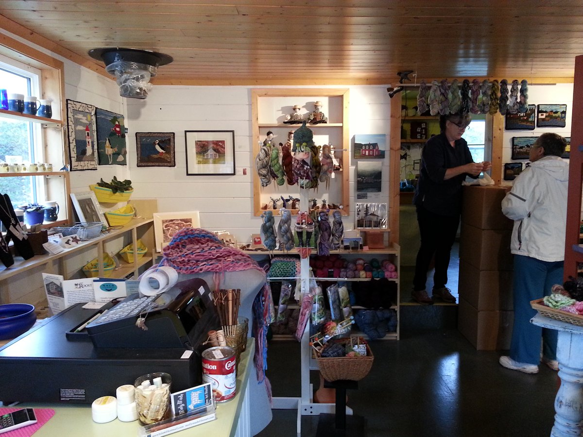 Molly Made Rug Hooking Studio, Woody Point, Newfoundland