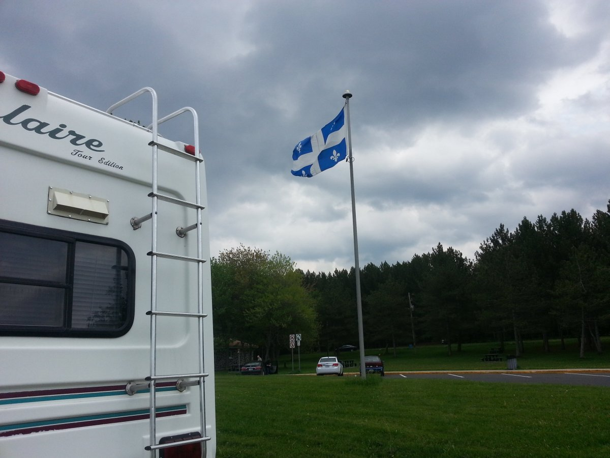 Quebec Rest Area