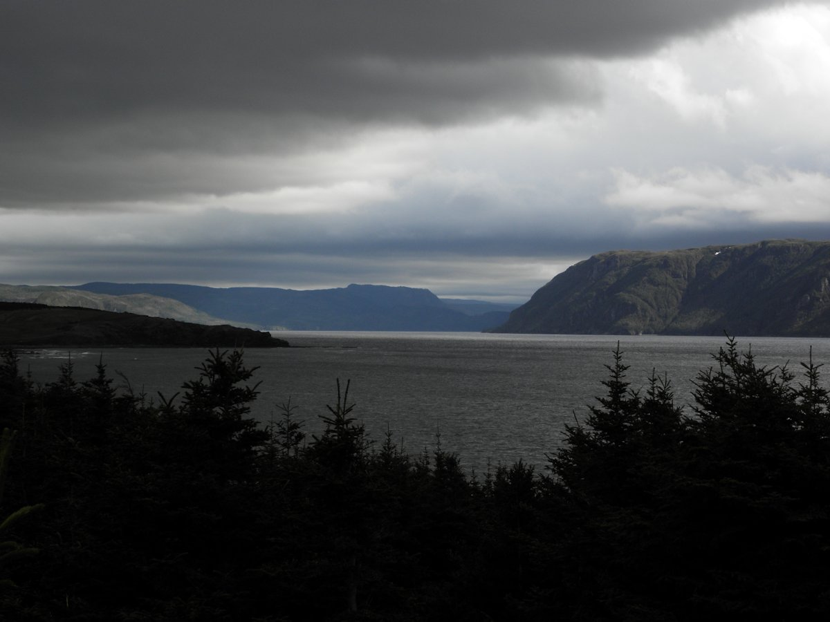 View of Bonne Bay from Rocky Harbour, NL