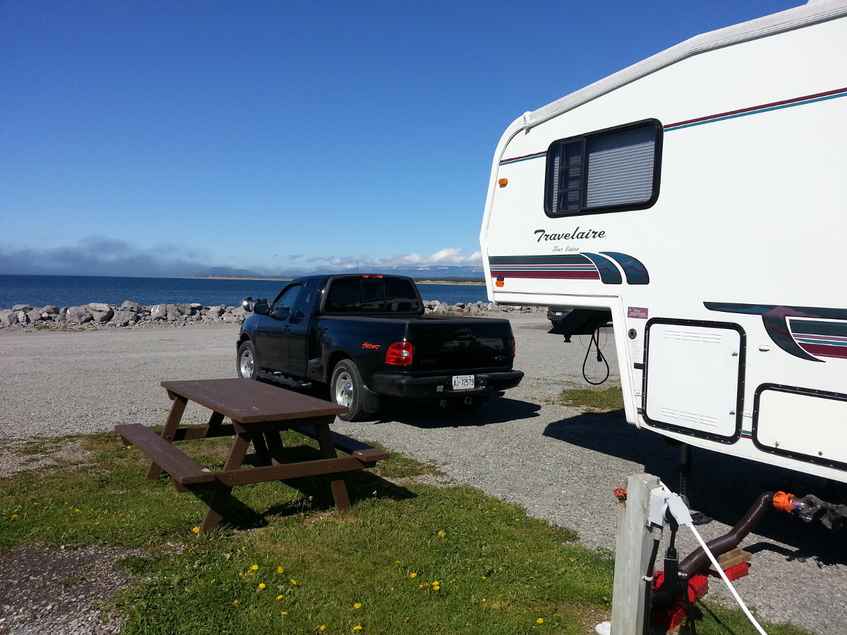 3 Way Hook-ups, Sea Breeze RV Park, Cow Head, NL