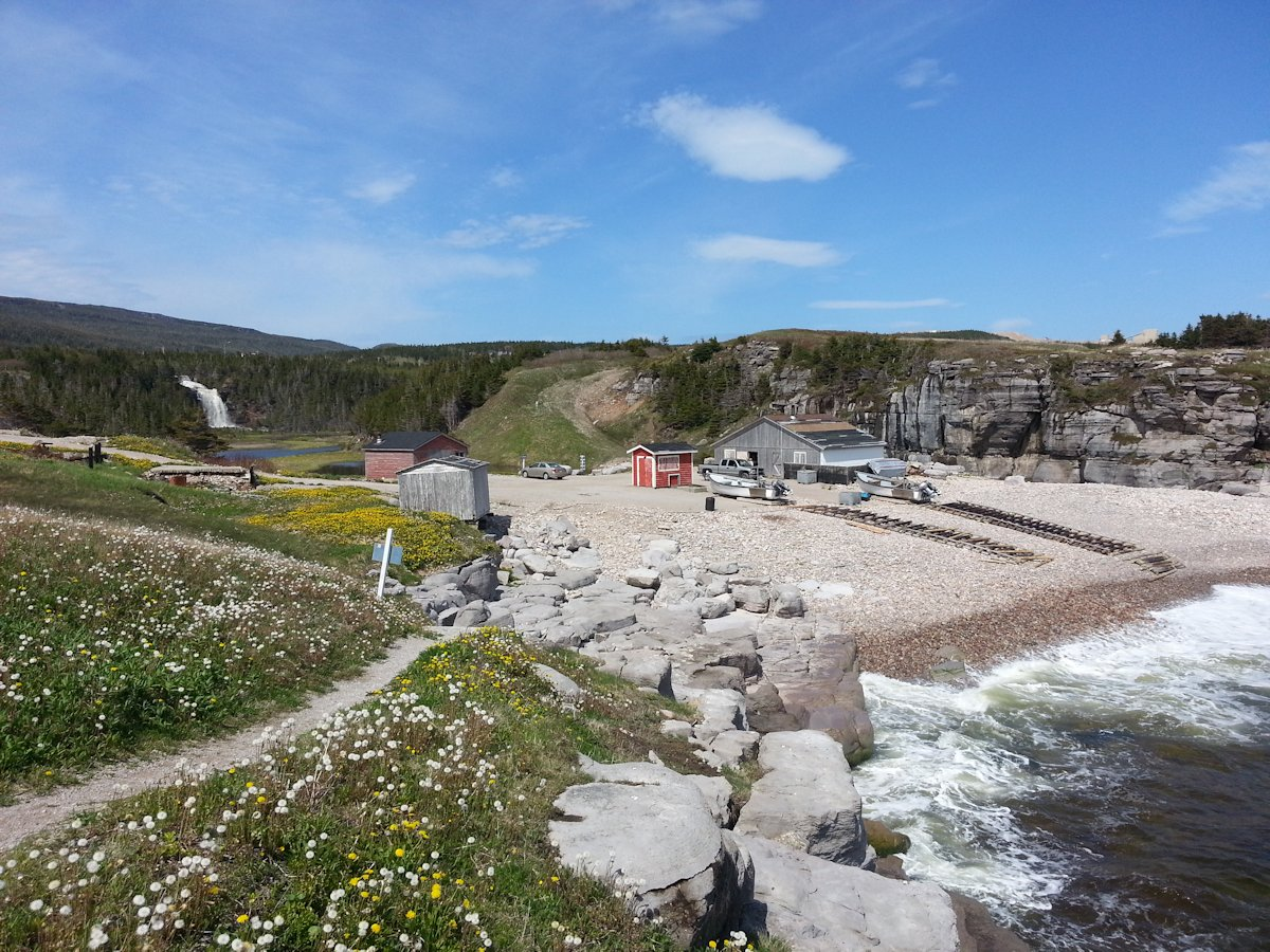 Sheaves Cove Beach, Port au Port, NL