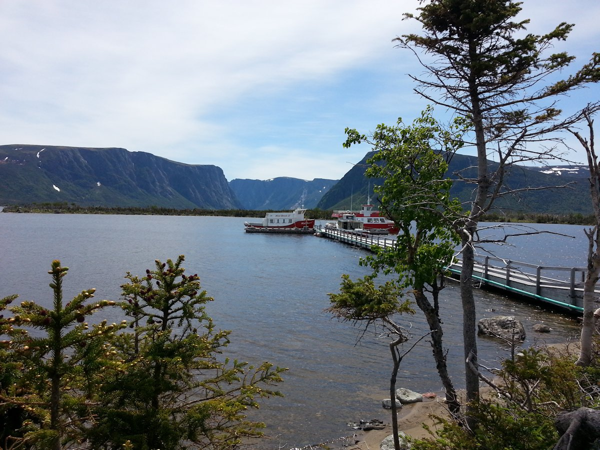 The Dock, Western Brook Pond, Gros Morne National Park
