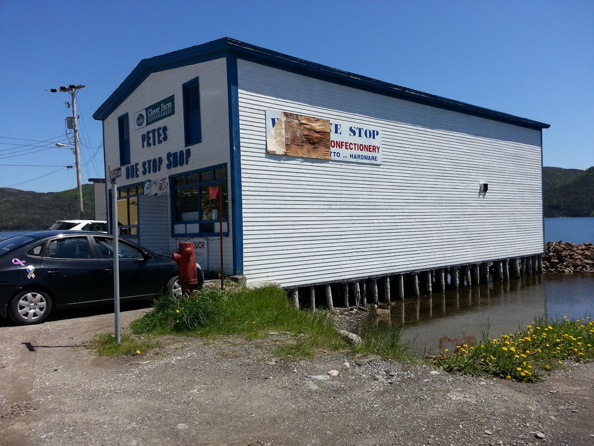 Pete's One Stop Shop, Woody Point, NL