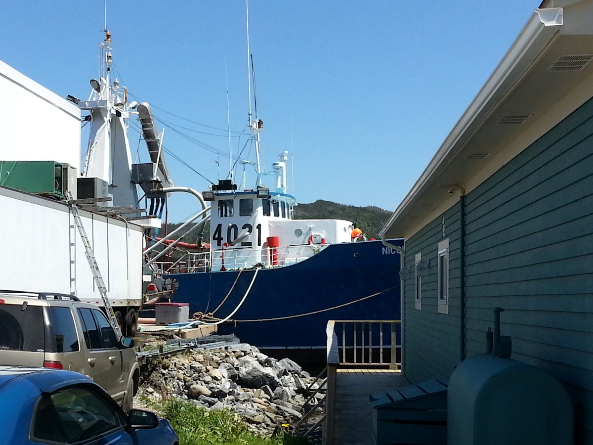 The Fish Plant, Woody Point, NL